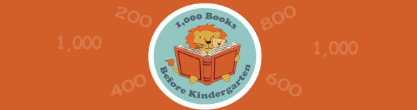 1,000 Books Before Kindergarten Banner