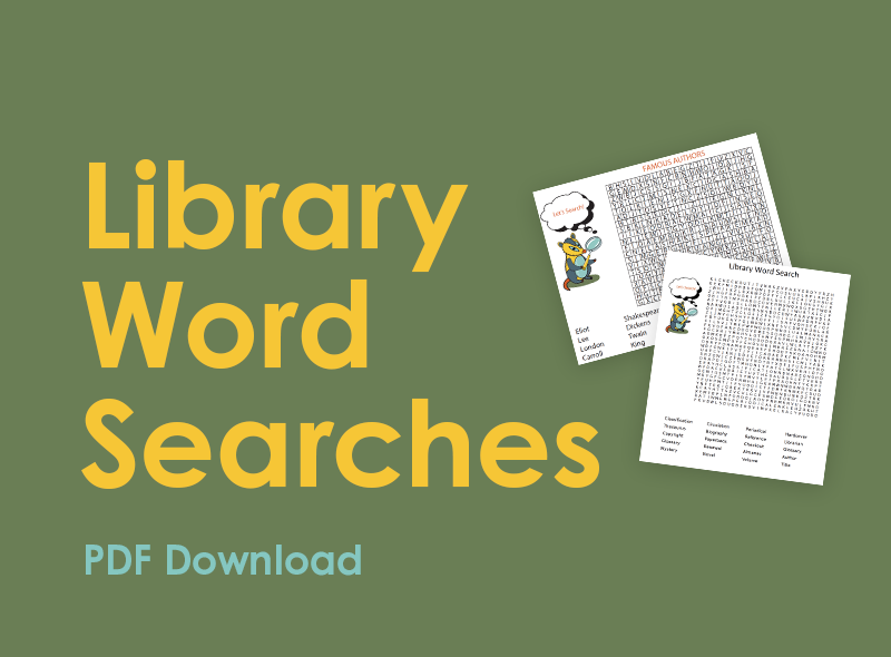 Library Word Searches PDF