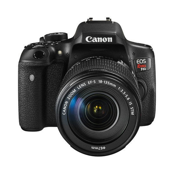 Canon Rebel T6i DSLR Camera Kit