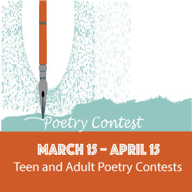 Poetry Contest, March 15–April 15