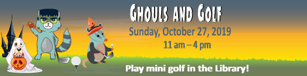 Ghouls and Golf Fundraiser
