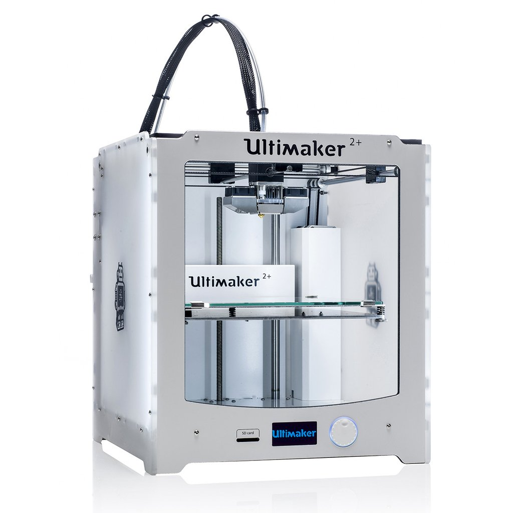 Photograph of the Ultimaker 2 Plus 3D Printer