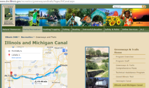 illinois dnr i& m canal